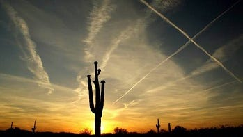 Roger Degler captures an Arizona sunset.