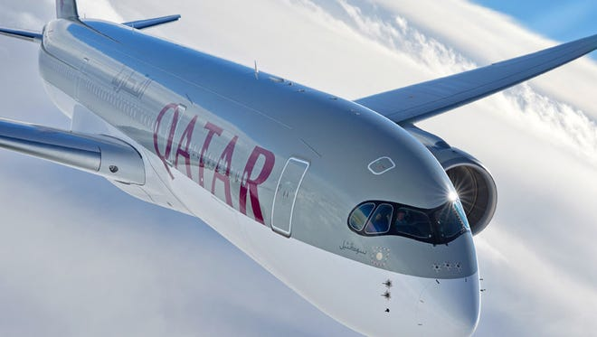 Qatar Airways became the first airline to fly the A350 to the USA.