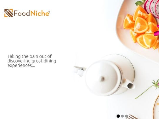 FoodNiche home page