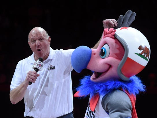 Former Microsoft CEO Steve Ballmer, now the owner of