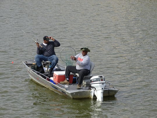 Fishing report multiple opportunities on lake river for Odnr fishing report