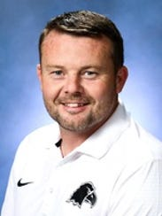 Carson-Newman women's soccer coach Simon Duffy.
