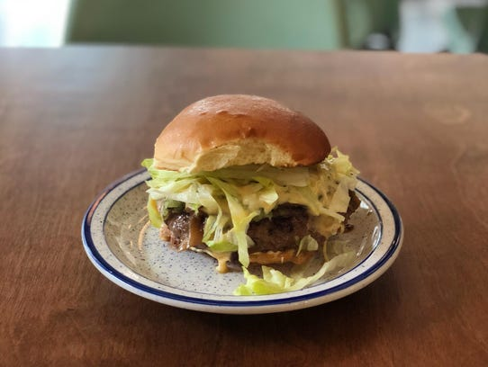 The Burlington burger from Lovers Only, which opens