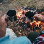 Alcoholic friend should abstain from camping