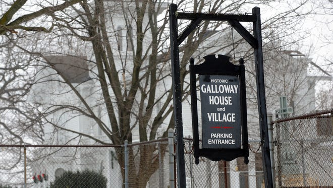 The Galloway house and village