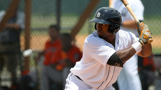 Christin Stewart clubbed 29 home runs between Single A Lakeland and Double A Erie this season.