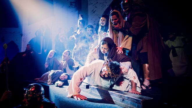 """The Pentecostals of Alexandria's """"Above All"""" Easter production takes audiences through the six days leading up to the death of Jesus. All six performances, which each seat more than 2,000, sold out completely."""
