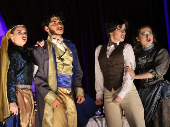 """Academy of the Holy Angels' production of """"The Mystery"""