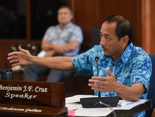 Speaker Benjamin J.F. Cruz discusses Bill No. 245-34