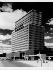 A snapshot of Midtown Tower pictured on May 17, 1979.
