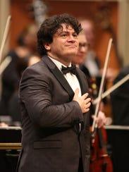 Guest conductor Cristian Măcelaru leads the Milwaukee