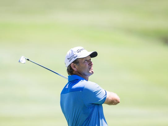 Two-time U.S. Open winner Retief Goosen will be in Memphis Monday attempting to qualify for this year's tournament.