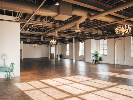 The Arbor Loft is in the East End with industrial look