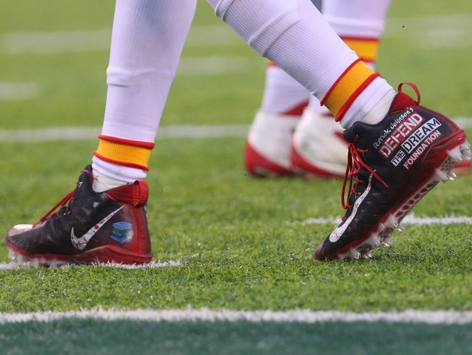 Ryan Shazier Pregame >> My Cause My Cleats: NFL players' special cleats for charity in Week 13