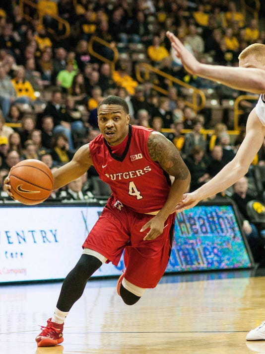 NCAA Basketball: Rutgers at Iowa