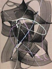 "Niels Shoe Meulman, ""Unself Righteous Shoe,"" acrylic"