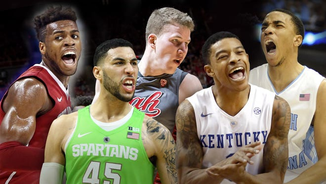 The 2016 USA TODAY Sports All-America men's basketball first team