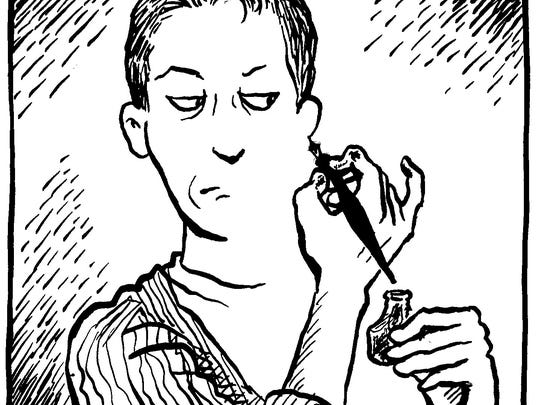 Alison Bechdel of Bolton is a cartoonist and graphic author/artist who lives in Bolton.