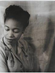 Margaret Walker, photographed by Van Vechten, courtesy of the Margaret Walker Center.