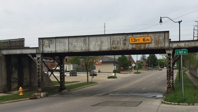 Center City Development Corporation received a $5,000 grant to repurpose the railroad trestle over East Main Street in Richmond.