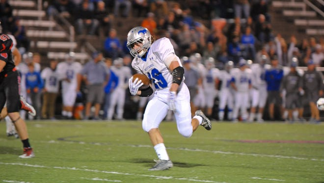 Smoky Mountain's Matthew Ridley was a 1,000-yard rusher for the Mustangs this football season.