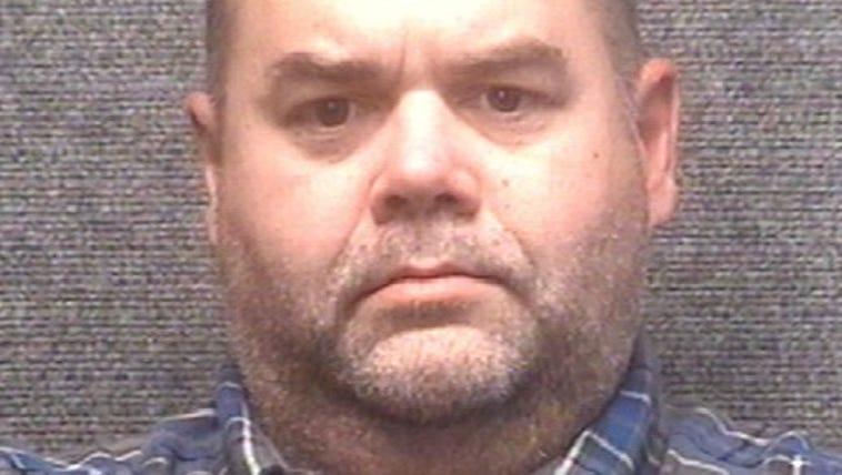 Lonnie Vann's mugshot after his arrest in Myrtle Beach,