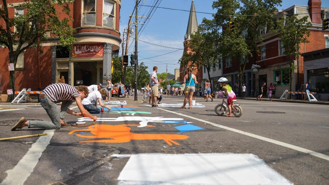 Cincy Summer Streets debuted in Northside in 2014. The second-annual event is Sunday, Aug. 23.