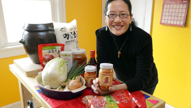 Saehee Chang will lead a class June 24 on banchan, the Korean side dishes, as part of a plant-based cooking series at Strange Town on the east side.