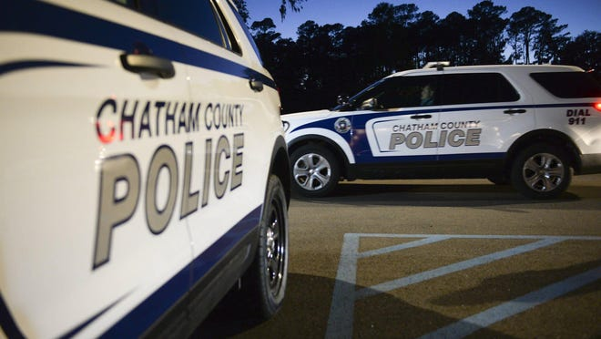 Chatham County police vehicles