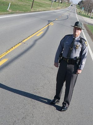 Lt. Scott Rike, commander of the Bucyrus post of the Ohio Highway Patrol, attributes a drop in the number of crashed reported so far this year to the COVID-19 pandemic and the shutdown designed to curb its spread.