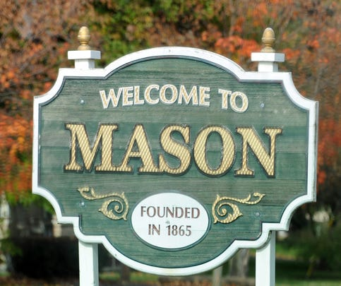 Mason.  Photo taken 10/29/2013 by Greg DeRuiter/LSJ