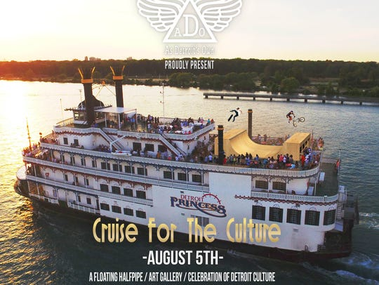 Cruise for the Culture is Aug. 5 on the Detroit Princess.