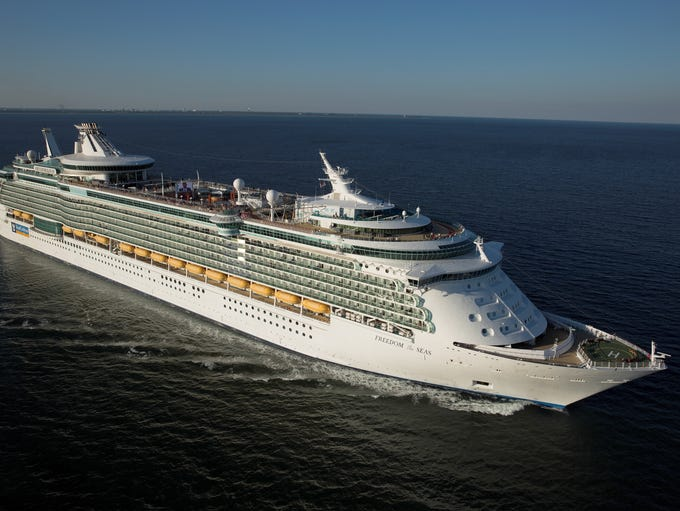 Originally unveiled in 2006, Royal Caribbean's Freedom
