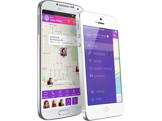 The Life360 app helps parents keep in touch with the