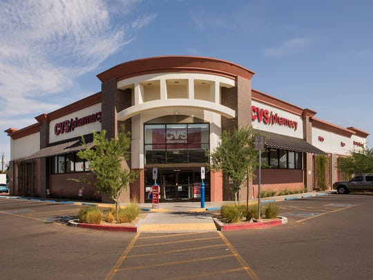 This CVS store in Phoenix is in the property portfolio of Vereit. Other large tenants include Red Lobster, Walgreens, Family Dollar and FedEx.