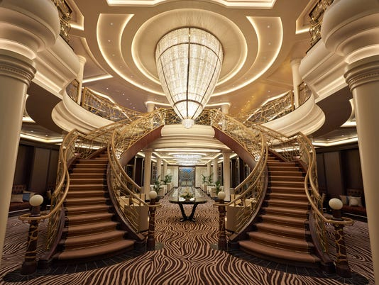 This over the top cruise ship is built to create wows