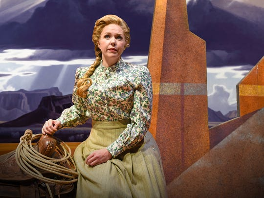 "Karin Wolverton stars in Arizona Opera's ""Riders of the Purple Sage."""