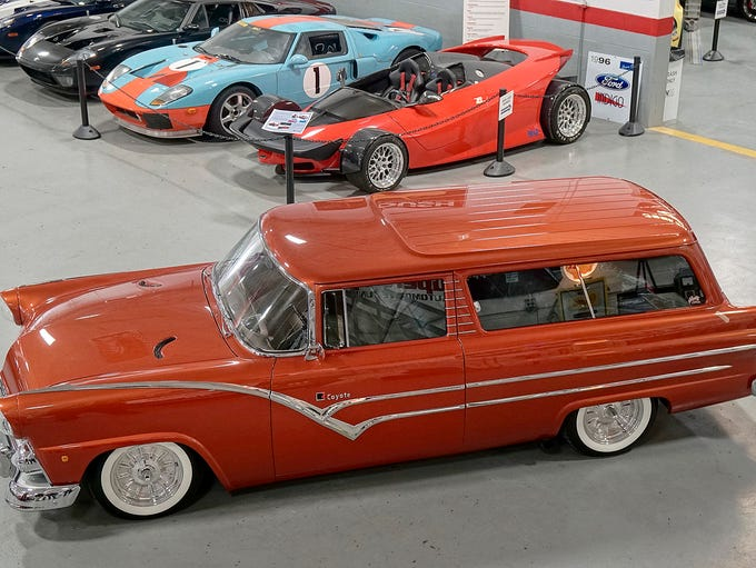The 1955 Ford wagon is headed for Autorama with a new