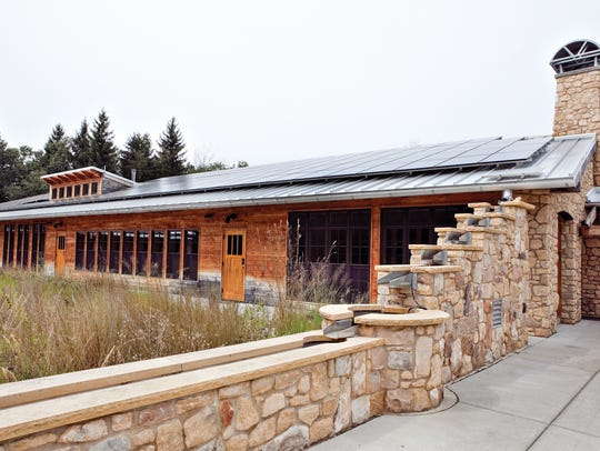 The Aldo Leopold Foundation visitor center is one of
