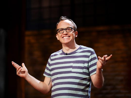 Chris Gethard, 36, opens up about depression and manic