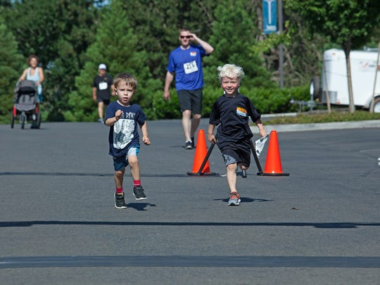 Participants in the 2016 Santiam Hospital Fun Run & Health Walk. This year's event is at 9 a.m. Saturday, June 3, at Santiam Hospital, 1401 N. 10th Ave., Stayton.
