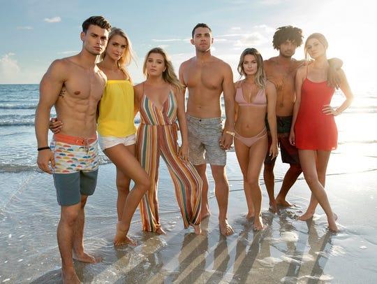 (Left to right:) Garrett, Kelsey, Chloe, Alex, Juliette,