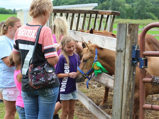"""Hope for Hooves,"" an annual fundraiser and open house"