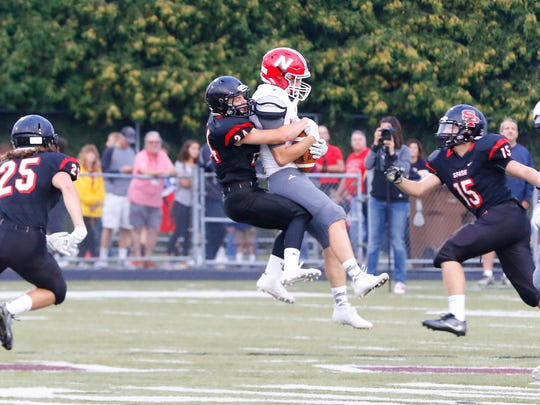 The SPASH defense stepped up big time last week in a 54-20 win over Wausau West. The Panthers had five interceptions and returned three of them for touchdowns.