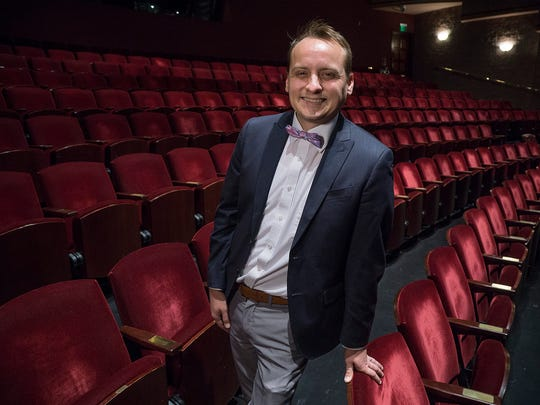 Joe Kvoriak has big plans for the Village Theater at Cherry Hill.