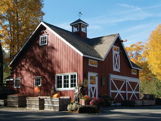 Thompson's Cider Mill in Croton-on-Hudson is a small-batch operation that produces up to 250 gallons per week during the season.