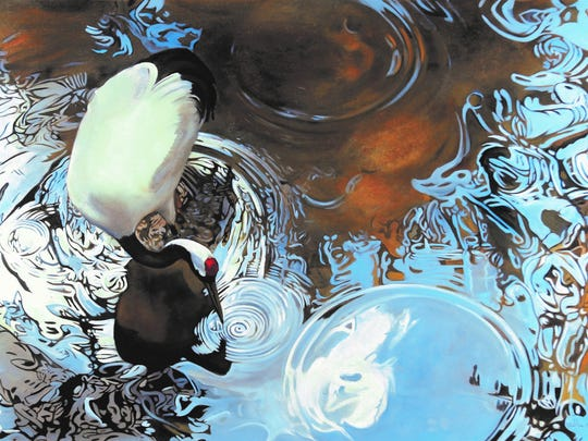 Artist Debbie Stevens of Cypress is one of three Texas artists selected for Birds in Art, a show that runs through Nov. 19 at the Art Museum of South Texas.