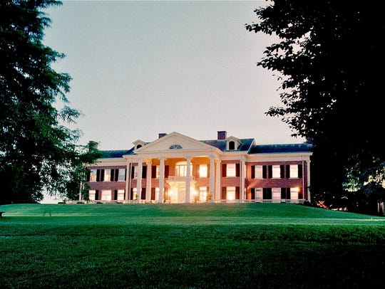 One of Belhurst's three hotels, White Springs Manor,