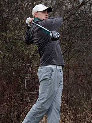 Mike Kee of Howell missed qualifying for last year's state golf tournament by one stroke.