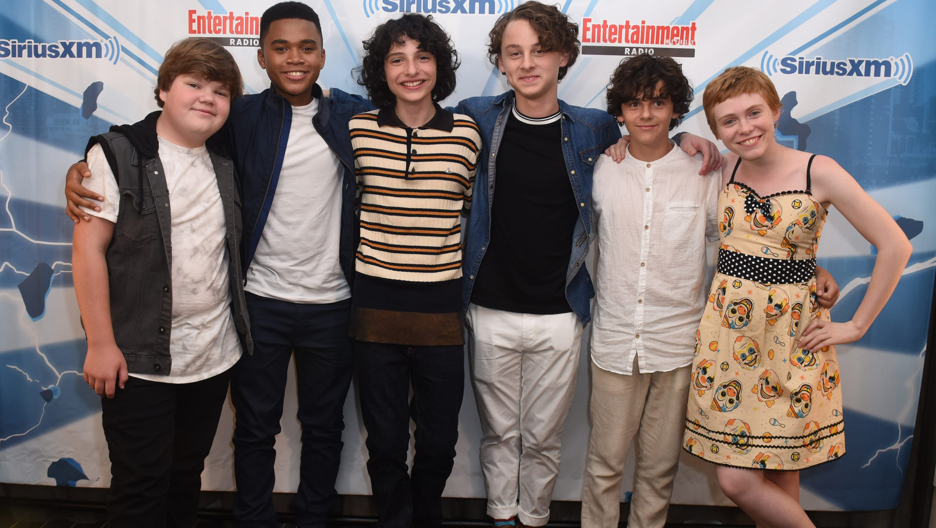 Comic con it stars recall favorite summer ever with pennywise kristyandbryce Image collections